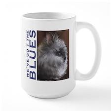 Blue Lionhead Mug
