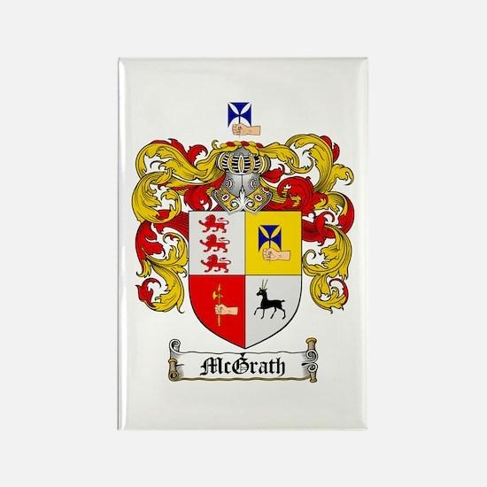 McGrath Family Crest Rectangle Magnet (10 pack)
