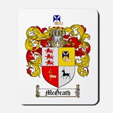 McGrath Family Crest Mousepad