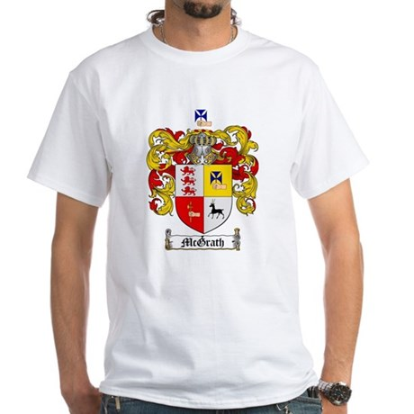 McGrath Family Crest White T-Shirt