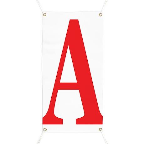 Sale Banner - Letter A