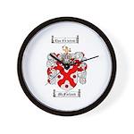 McFarland Family Crest Wall Clock