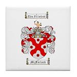 McFarland Family Crest Tile Coaster