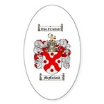 McFarland Family Crest Oval Sticker