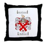 McFarland Family Crest Throw Pillow