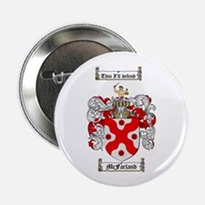 "McFarland Family Crest 2.25"" Button (100 pack)"