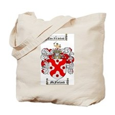 McFarland Family Crest Tote Bag