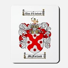 McFarland Family Crest Mousepad