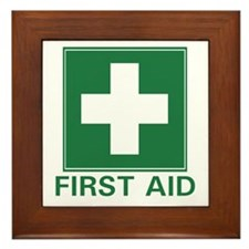 First Aid Framed Tile