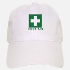 First Aid Baseball Baseball Cap
