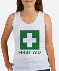 First Aid Women's Tank Top