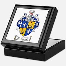 McDougall Family Crest Keepsake Box