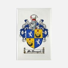 McDougall Family Crest Rectangle Magnet (10 pack)