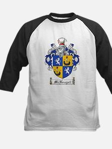 McDougall Family Crest Kids Baseball Jersey