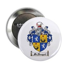 "McDougall Family Crest 2.25"" Button (100 pack)"
