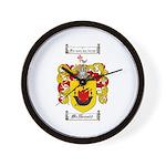 McDonald Family Crest Wall Clock