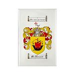 McDonald Family Crest Rectangle Magnet (10 pack)