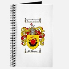 McDonald Family Crest Journal