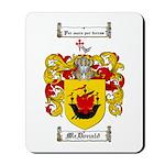 McDonald Family Crest Mousepad