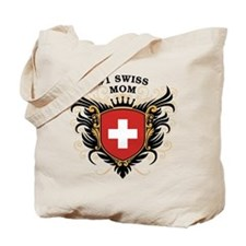 Number One Swiss Mom Tote Bag