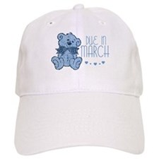 Blue Marbled Teddy Due In March Baseball Cap