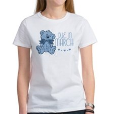 Blue Marbled Teddy Due In March Tee