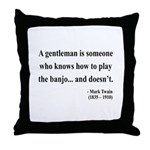 Mark Twain 36 Throw Pillow