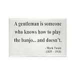 Mark Twain 36 Rectangle Magnet (10 pack)