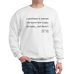 Mark Twain 36 Sweatshirt