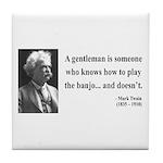 Mark Twain 36 Tile Coaster