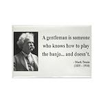 Mark Twain 36 Rectangle Magnet (100 pack)