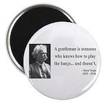 Mark Twain 36 Magnet