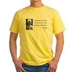 Mark Twain 36 Yellow T-Shirt