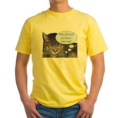 CAT NAP HUMOR T