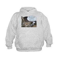 CAT NAP HUMOR Hoodie
