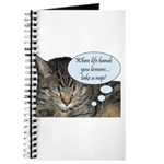 CAT NAP HUMOR Journal
