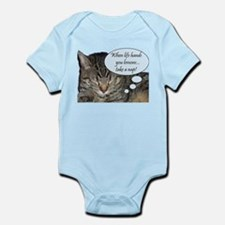CAT NAP HUMOR Infant Bodysuit