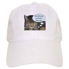 CAT NAP HUMOR Baseball Cap