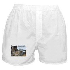 CAT NAP HUMOR Boxer Shorts