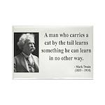 Mark Twain 34 Rectangle Magnet (10 pack)