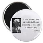 Mark Twain 34 Magnet