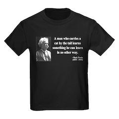 Mark Twain 34 Kids Dark T-Shirt