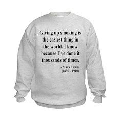Mark Twain 28 Sweatshirt