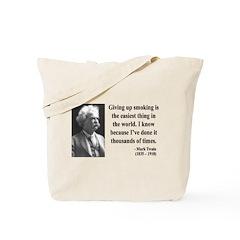 Mark Twain 28 Tote Bag