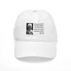 Mark Twain 28 Baseball Cap