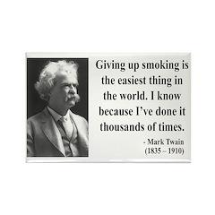 Mark Twain 28 Rectangle Magnet