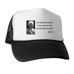 Mark Twain 26 Trucker Hat