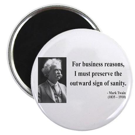 Mark Twain 26 Magnet