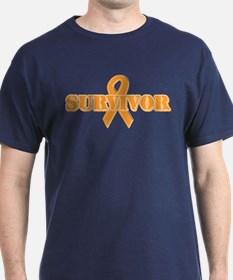 Orange Ribbon Survivor T-Shirt