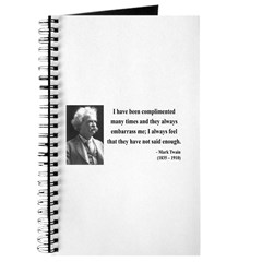 Mark Twain 12 Journal